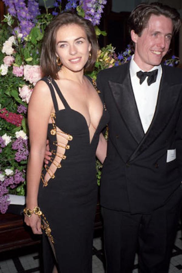 Elizabeth Hurley And Hugh Grant 2014